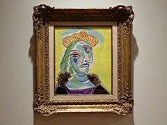 Bust of a Woman (knightbefore_99) Tags: vag vancouver art gallery pablo picasso exhibition muses cool awesome bc spain french painting painter lady bust dora maar