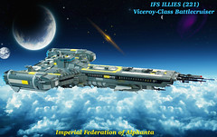IFS ILLIES (221) SHIPtember 2016 (JBIronWorks) Tags: ifsillies starship shiptember shiptember2016 awesome lego cool moc space battlecruiser warship