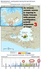 Katla Volcano in Iceland is stirring (olikristinn) Tags: iceland katla volcano earthquake quake quakes tremor tremors skjlftar jarskjlftar imo met office mrdalsjkull myrdalsjokull september2016 september30th 30092016 glacier