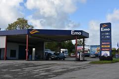 Emo, Killineer County Louth Ireland. (EYBusman) Tags: emo petrol gas gasoline filling service station killineer county louth republic ireland certas energy eybusman