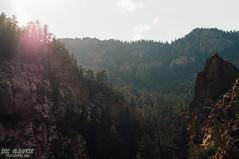 Colorado Springs (ericvilendrerphoto) Tags: coloradosprings colorado mountain sky sunset mist haza rocks trees hiking travel nikon d300