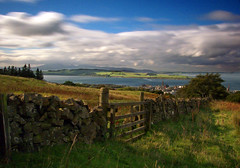 Above Largs (wheehamx) Tags: largs clyde arran