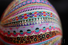 Pinwheel (Katy David Art) Tags: pysanky pysanka modern colorful multicolored wax batik beeswax aniline dye easter egg eggshell goose pinwheel leaves geometric pink green hellow flowers floral stripes pattern ukrainian