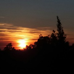 Soleil couchant. (Claudia Sc.) Tags: provence lubron fort fortdescdres couchant soleil sunset france