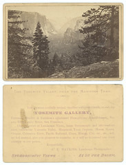 The Yosemite Valley, From the Mariposa Trail. (SMU Central University Libraries) Tags: trails mountains yosemitevalley california yosemitenationalpark