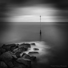 On the Rocks (Chalky666) Tags: sea rock tide seascape dorset mono