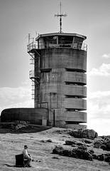 Tower MP2 / Corbire (Images George Rex) Tags: jerseyci uk tower observationtower ww2 concrete corbire marinepeilstand towermp2 photobygeorgerex imagesgeorgerex sthelier channelisles jersey batterielothringen betonbrut shutteredconcrete atlanticwall