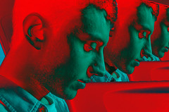 Infinit (Miler B) Tags: beatles photoshop experiment colors gente experimentacion covers