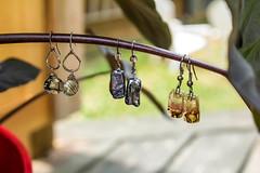 Earrings (KaylaLeighann) Tags: photographer ohio canon photography rebel 5t jewlery gemstones gems earrings