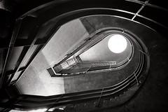 Short Fuse (Douguerreotype) Tags: england london uk urbex british barbican stairs spiral city britain architecture gb urban helix steps bw blackandwhite monochrome mono
