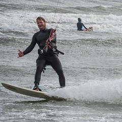 Hang loose \.../ (astielau) Tags: brandung damp kitesurfing
