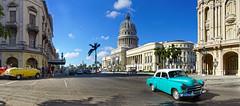 El Capitolio (LUCIAN MOROZAN) Tags: capitolio vintage taxi havana habana cuba sony sigma