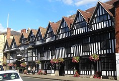 [45391] Stratford : Shakespeare Hotel (Budby) Tags: stratford stratfordonavon stratforduponavon warwickshire timbered hotel