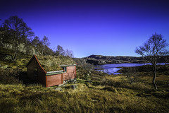 Mountain cabin (Liv Annette) Tags: mountain fjell view norge norway landscape nature scenery hst autumn canon7d colors cairn beautiful