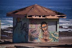 Lotus (Ctuna8162) Tags: playa beach antofagasta grafitti painters art