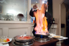 Banana's Foster - Brennan's (chrismccorkle2) Tags: brennans new orleans la lousiana bananas foster flames chef