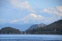 Straits to Mt.Baker (~~J) Tags: mtbaker straits mountains cascademountains islands stateofwashington
