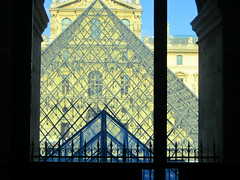 geometry at The Louvre (bronxbob) Tags: museums art artmuseums paris france thelouvre