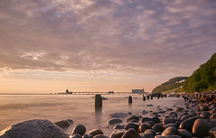 DSC02828 (JohnnyKa$h) Tags: sellin rgen seebrcke ostsee balticsea longexposure sunrise rocks stones beach sea sel1855