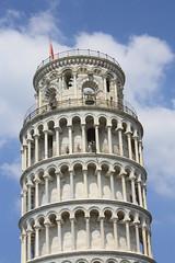 Piazza dei Miracoli # 6 Campanile (leaning tower) - Pisa, Tuscany, Italy 2016 (Moocha) Tags: piazza dei miracoli campanile leaning tower pisa tuscany italy western religion faith worship bell