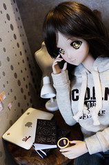 Rainy day ~ (Targuerys) Tags: smart doll smartdoll mirai danny choo culture japan rainy rain day coffee