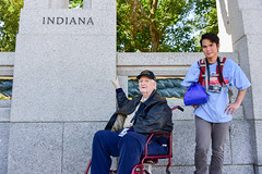 Wagner, Karl 20 White (indyhonorflight) Tags: wagner ihf indyhonorflight angela napili public karl 20 white public2021 wwii memorial indiana 2021