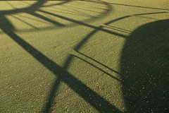 Astroturf and Shadows (josullivan.59) Tags: wallpaper 3exp evening texture toronto urban ontario outside october artisitic abstract sunset shadow sunsetlight autumn day detail downtown fall geometric green harbourfront lightanddark canon6d canada canonef24105mmf4lisusm nicelight minimalism 2016 leaves