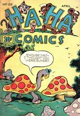 Ha Ha 28 (Michael Vance1) Tags: art artist anthology comics comicbooks cartoonist funnyanimals fantasy funny humor goldenage