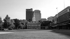 Independence Hall (Eric Brisson Photography) Tags: blackandwhite usa history philadelphia america liberty unitedstates pennsylvania historic pa pai independancehall ericbrisson sakuhabs