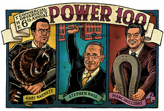 The Power 100 (mario zucca illustration) Tags: bear portrait illustration poster drawing circus editorial zucca strongman featsofstrength strongmen amario richguys mariozucc