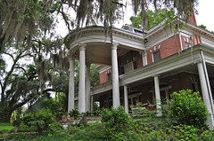 The Grand House (BKHagar *Kim*) Tags: house brick architecture ga georgia columns grand southern spanishmoss powell mansion bainbridge grandeur bkhagar