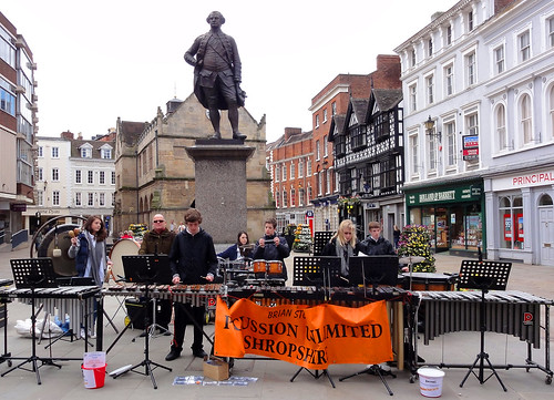 Percussion Unlimited Shropshire @ Shrewsbury