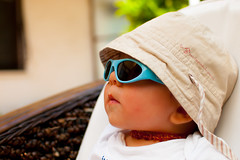 He's the man! (Yane Naumoski) Tags: shadow baby sun cute relax glasses little dude enjoy chillax