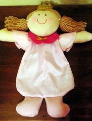 Princesa Porta-bombons - Lembrana para aniversrio (Luz de Girassol Ateli) Tags: de pano infantil beb boneca princesa festa aniversrio decorao temtica lembrancinhas