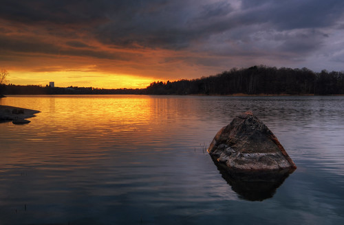 Sunset Rock Lake