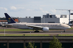 Boeing B772 Saudi Arabian Airlines HZ-AKC (Not that grumpy) Tags: saudi boeing arabian airlines b772 hzakc