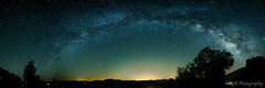 Over the light (SGR Photo) Tags: statepark panorama usa night texas arch unitedstates pano tripod panoramic astro astrophotography nightsky hillcountry milkyway garnerstatepark texasstatepark concan 2013