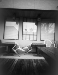 Pinhole 2 (snr014) Tags: camera windows reflection photo chairs image pinhole tables inverted invert