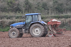 New Holland TM120 Tractor & Accord Seed Drill (Shane Casey CK25) Tags: county new blue tractor holland barley accord spring hp seasons power near farm cork farming grain working seed till land crops farmer agriculture setting pulling drill tilling agri rathcormac tillage tm120