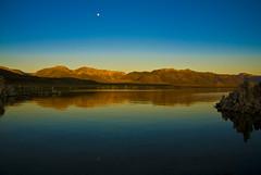 Mono lake moon morning (r.moreira32) Tags: california moon lake sunrise landscape nikon monolake easternsierras d700 platinumheartaward blinkagain bestofblinkwinners blinksuperstars