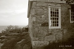 Star Island - side of chapel (Pilgrim on this road - Bill Revill) Tags: island newhampshire chapel atlanticocean isleofshoals starisland
