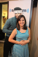 Intern Eva (covinoandrich) Tags: show radio satellite rich intern siriusxm covino