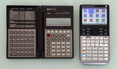 HP 28S & Prime Graphing Calculators (keith midson) Tags: prime hp champion calculator graphing hewlett hewlettpackard packard clamshell advanced scientific programmable 28s