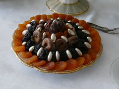 #50 of 100 x - Food (amy's antics Will catch up with commenting ASAP) Tags: fruit table nuts dried dates figs apricots prunes image50100 100xthe2016edition 100x2016