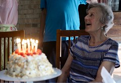 cake (thaneladner) Tags: joy gratitude birthday family oma grandmother mother look love party candles cake fruit 86 86th