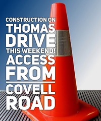 Don't forget! The @cityofedmondok is doing road construction on Thomas Drive, which will affect access to John Ross Elementary this weekend. If you are coming for MOVE Phase 3 on Saturday, or worship gathering on Sunday, please access Thomas Drive from Co (rcokc) Tags: from road 3 oklahoma john for this drive is ross construction worship please you thomas weekend or sunday saturday move doing dont will gathering if access coming phase which elementary edmond forget the covell affect roadconstruction movethemission cityofedmondok