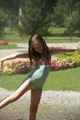Fleur (Loulum) Tags: austria hellbrunn garden water sprinkler