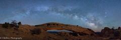 Another Double Arch (OJeffrey Photography) Tags: canyonlandsnationalpark cnp mesaarch starscape nightsky nightscape stars pano panorama lightpainting ojeffrey ojeffreyphotography jeffowens nikon d800 nationalpark