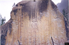 1000 Ad Buddha Rock Carving At Skardu Baltistan, picture taken in 2003 (Ali Usman Baig (Documenting Pakistan)) Tags: budhism 1000yearsold pakistan skardu gilgit baltistan