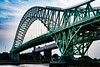 Silver Jubilee Bridge (Si Bart) Tags: httpwwwmoorecameracluborg cheshire 35mm d5200 nikon gradeiilisted rivermersey bridge silverjubileebridge runcorn widnes